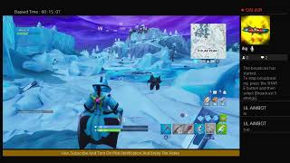 Playing fortnite eps 59 i unlocked catalyst snowstorm