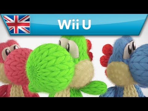 Yoshi's Woolly World - Cute amiibo patterns! (Wii U)