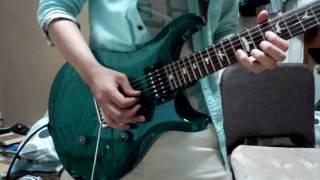 よくバンドでコピーしていた175のサクラのギターソロを弾いてみました!...
