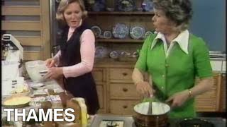 Mary Berry - lemon meringue pie - 1973