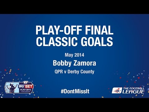 Classic Play-Off Final Goals - Bobby Zamora (Queens Park Rangers v Derby County)