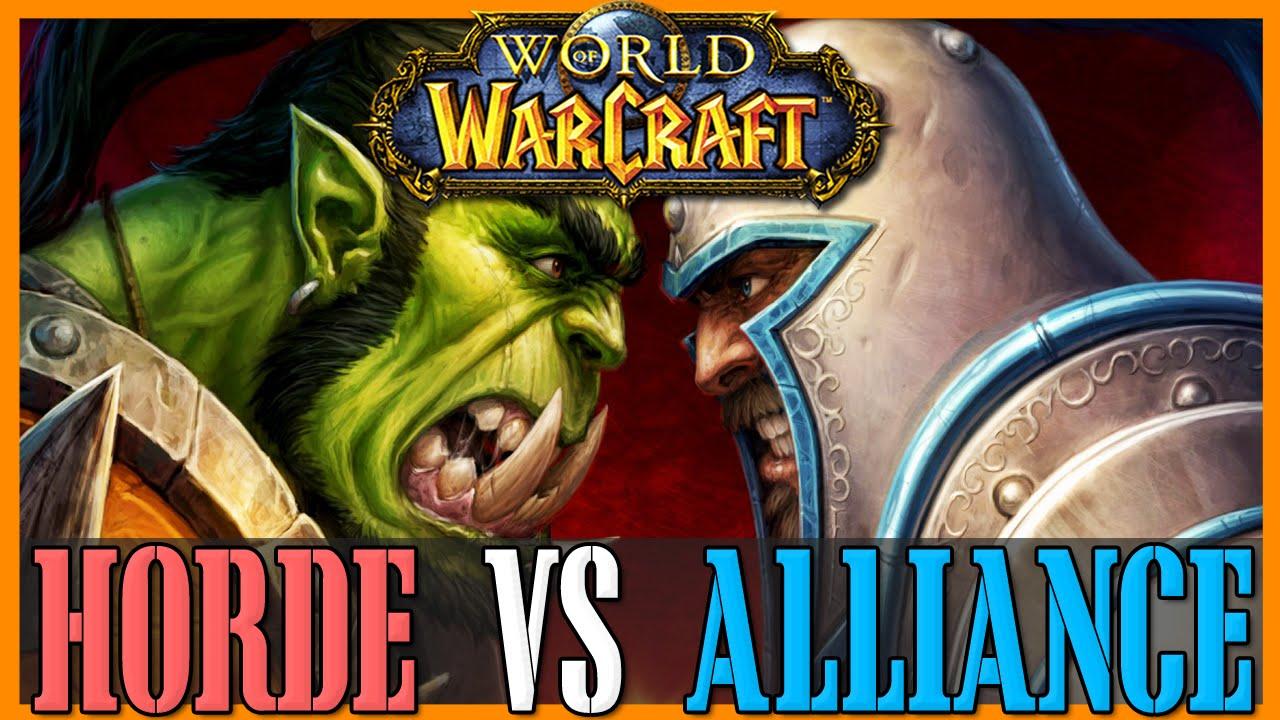 Risultati immagini per wow alliance or horde