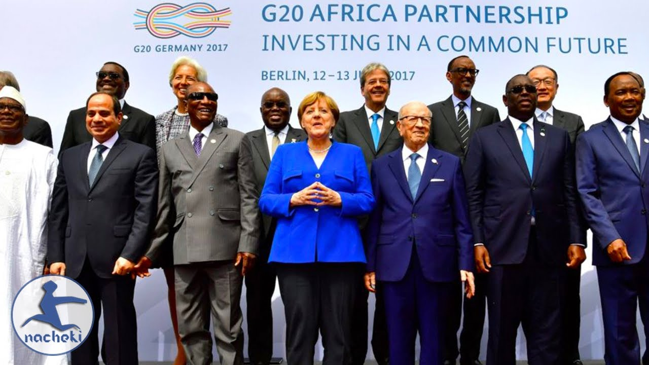 African Leaders Make Their Demands Known in Germany at G20 Summit
