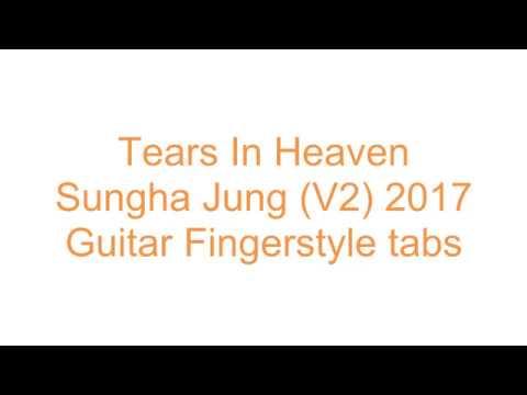 Tears In Heaven-Sungha Jung v2 Fingerstyle Tab by Fingerstyle tabs Guitar