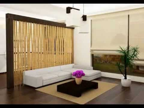 Living room partition decorating ideas youtube for Living dining room separation ideas