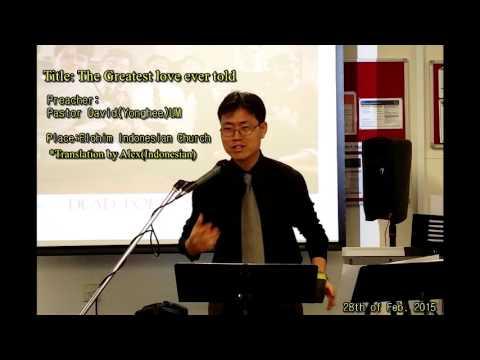 David(Yonghee UM)엄용희목사-Indonesian Elohim Church sermon