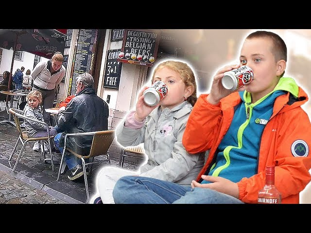 Would you react ? 51: l'influence de l'alcool sur les enfants exp. sociale