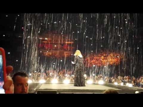 Adele Live in Köln/Cologne 14.05.16 Someone like you & Set fire to the rain