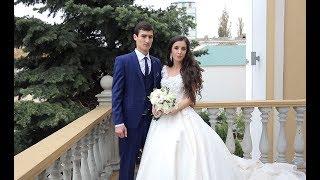 Свадьба Юсуп и Зарема. Красивая пара молодых