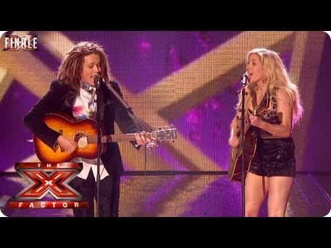 Luke Friend sings Anything Could Happen with Ellie Goulding - Live Final Week 10 - The X Factor 2013