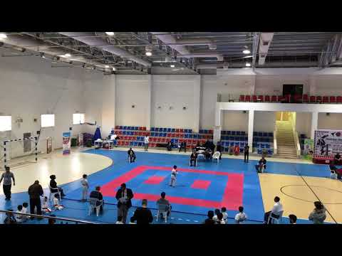 Oman National Karate Competition 2018 - Juraj kata first round