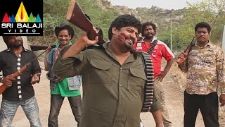 Hyderabad Kay Sholay Comedy Scene 10 | Jabbar Fight wih Thakur | Sri Balaji Video