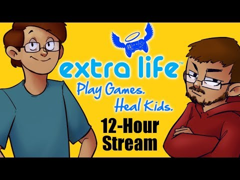 12-Hour Extra Life Stream! Playing Games From Our Inbox to Help Kids! 10am-10pm Pacific Time