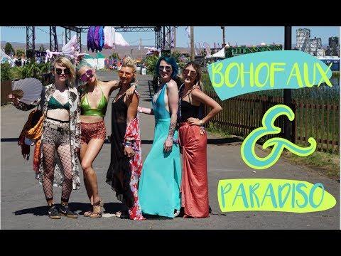 Paradiso Music Festival  |  Boho Faux  | The Gorge