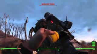 Игровая одноминутка - 4 Секс, насилие и Рок-н-ролл в Fallout 4 (Игры)