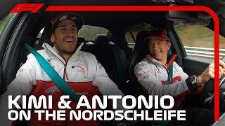 Raikkonen Scares Giovinazzi On Nordschleife's 'Green Hell'