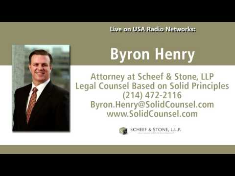 Attorney Byron Henry live on national radio