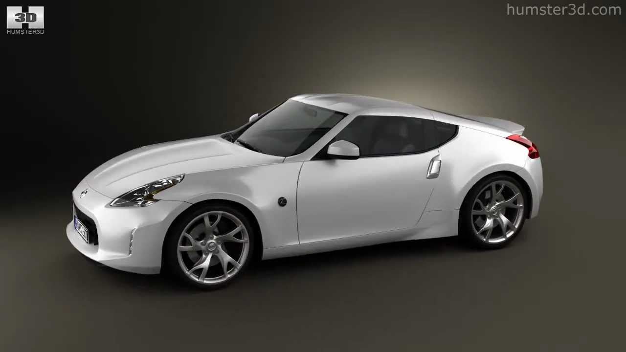 Nissan 370Z Coupe 2013 by 3D model store Humster3D.com ...