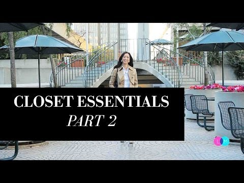 Fashion Closet Essentials - Part 2, closetessentials