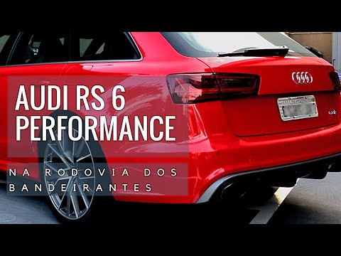 AUDI RS6 PERFORMANCE NA RODOVIA