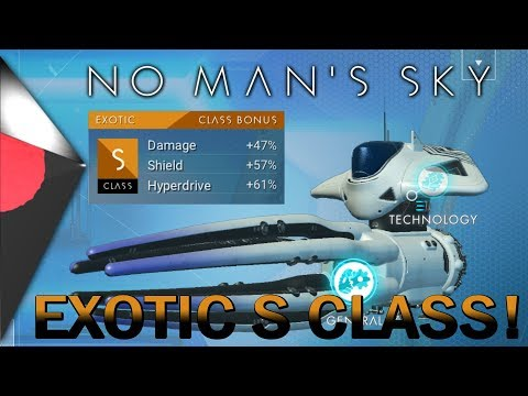 EPIC EXOTIC S CLASS SQUID SHIP! & Selling 140m in No Man's Sky