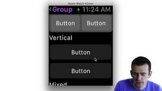 WatchKit UI Component Walkthrough