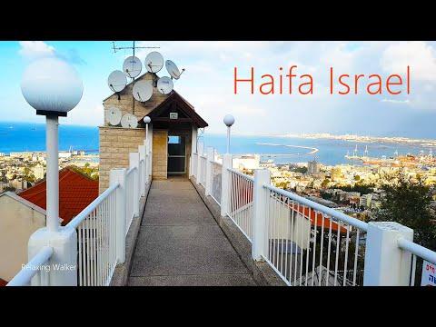 Israel, Haifa Walk. Bahai Gardens (a Small Part Of The Garden) And Surroundings
