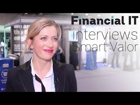 Financial IT interviews Olga Feldmeier, CEO of SMART VALOR at FinovateEurope 2018