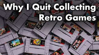 Why I Quit Collecting Retro Games