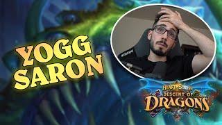 PLAYING YOGG SARON ON RANK 1 | Battlegrounds | Descent of Dragons