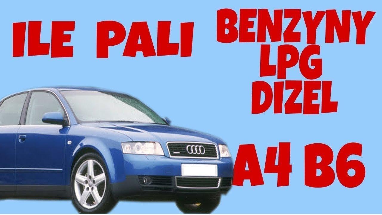 Audi A4 B6 Ile Pali Spalanie Opinie Youtube