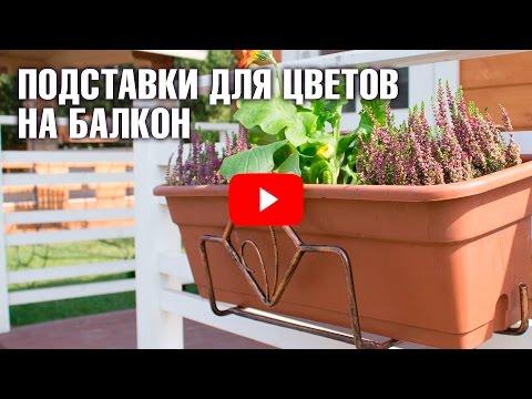 Балконные подставки для цветов со скидкой - Акция от Hitsad!из YouTube · С высокой четкостью · Длительность: 38 с  · Просмотры: более 1.000 · отправлено: 17.03.2017 · кем отправлено: HitSadTV