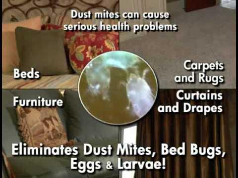 fabriclear bed bug spray - youtube