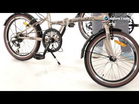 Складной  велосипед NOVATRACK