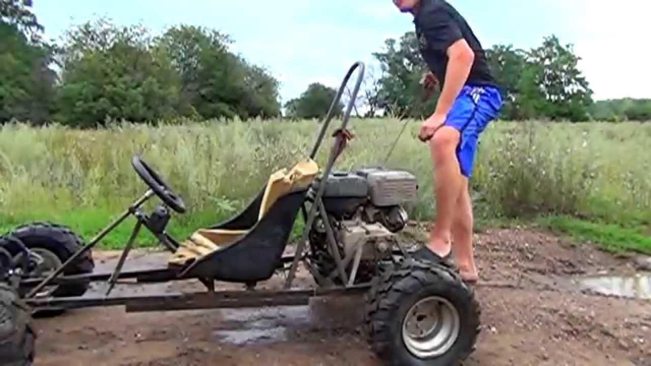 how to make a homemade go kart step by step