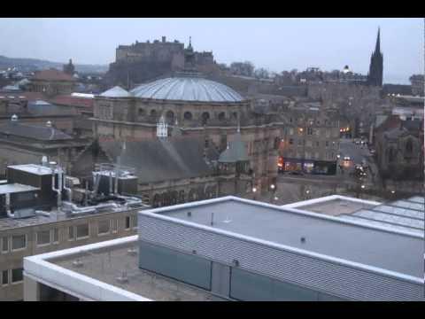 Time Lapse from Appleton Tower Edinburgh
