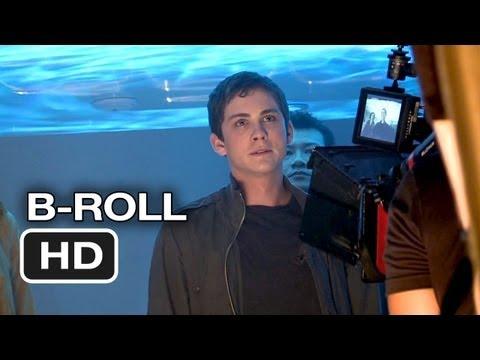 Percy Jackson: Sea of Monsters Complete BRoll 2013  Logan Lerman Movie HD