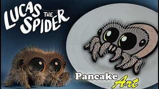 Lucas the Spider - Pancake Art