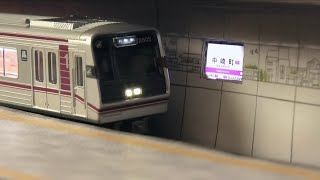 鉄模 Nゲ 駅再現 地下鉄 谷町線 中崎町駅 大阪メトロ Model train real sound subway station