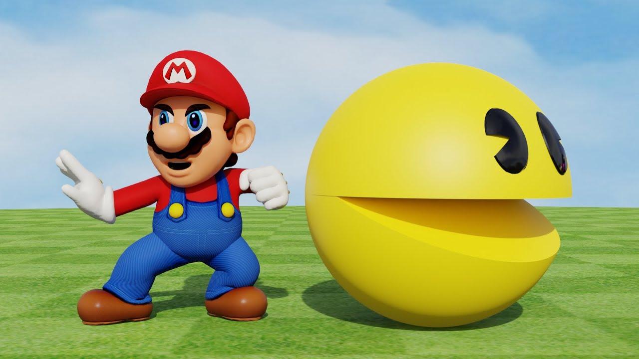Pac-Man Vs Super Mario (Superstar)