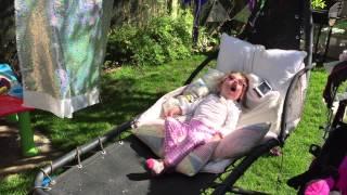 Harriet - Outside in The Garden - Before Seizure