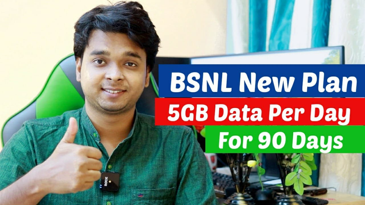 BSNL Breaking News | New Plan Launched Which Gives 5 GB Data per day For 90 Days