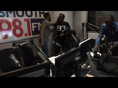 Rising star Lady Donli visits Grapevine 981 with Folu, Valentine, James & Osagie 22/3/18