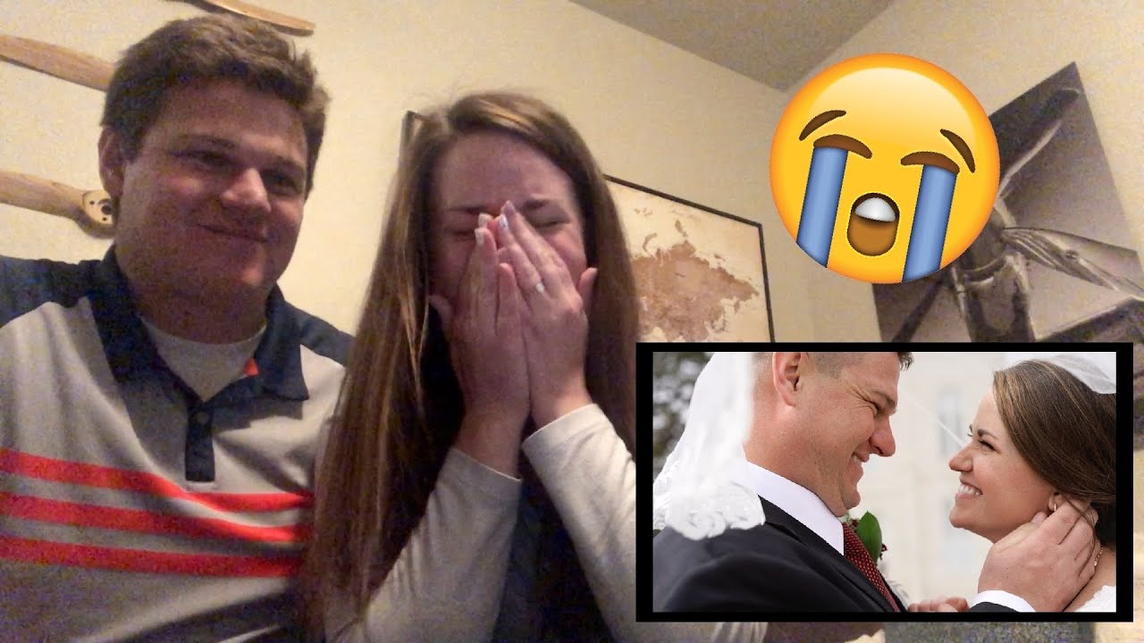 Lauren and Tyler watch their wedding film for the first time 😭 *will make you cry!*
