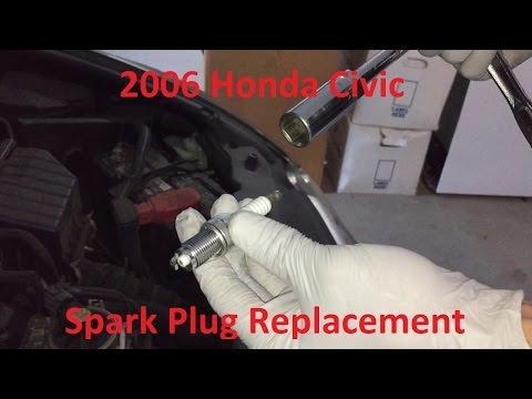 Tutorial: Change 2006 Honda Civic Spark Plugs