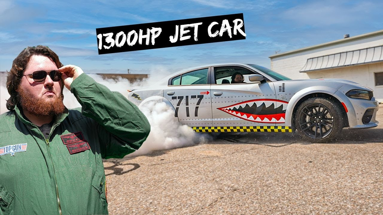 Download We Built a 1300HP Hellcat Jet with Twin Turbos
