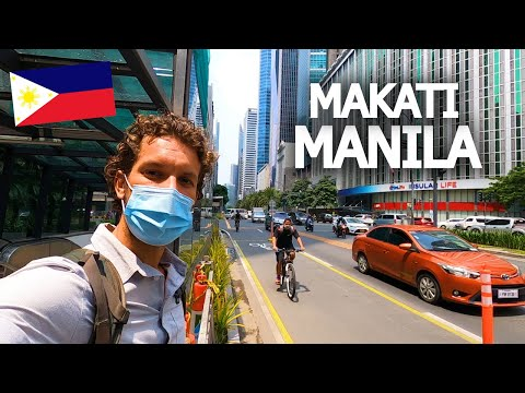 FIRST IMPRESSIONS OF MANILA 🇵🇭 MAKATI IS INSANE!