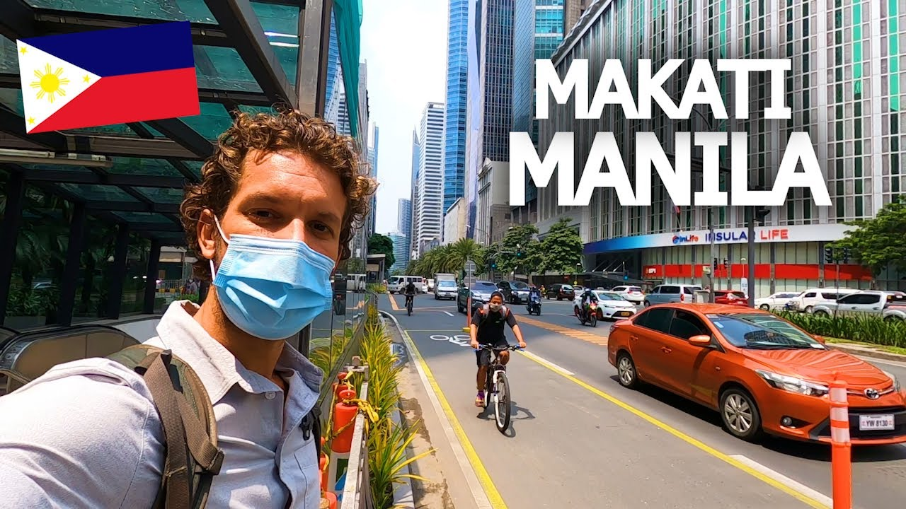 Download FIRST IMPRESSIONS OF MANILA 🇵🇭 MAKATI IS INSANE!