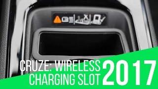 2017 Chevrolet Cruze: Wireless Charging Slot