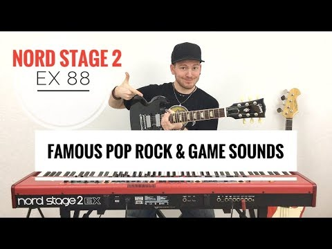 Famous Pop- / Rock- & Game-Sounds (Nord Stage 2 EX88) - by Tobias Rössler